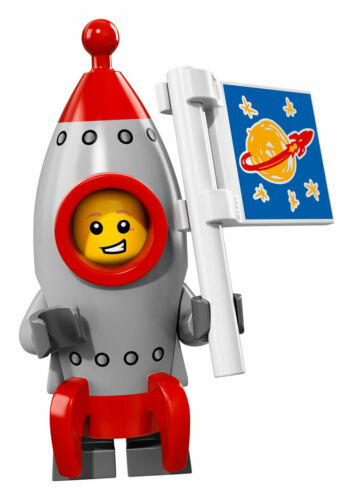 LEGO 71018 Rocket Boy Collectible Minifigure Series 17 NEW /& SEALED