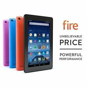 Amazon-Kindle-Fire-7-034-Inch-8GB-Tablet-Quad-Core-IPS-HD-Wi-Fi-2x-Camera