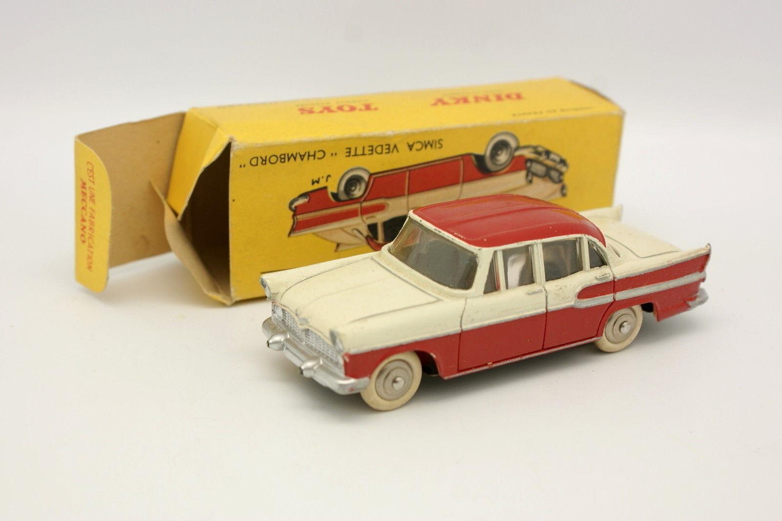 Dinky Toys France 1 43 - Simca Vedette Chambord 24K + Boite
