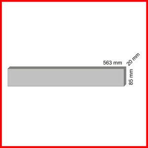 563mm / 85 mm / 20mm Aluminiumblech 2650g - Internet, Deutschland - 563mm / 85 mm / 20mm Aluminiumblech 2650g - Internet, Deutschland