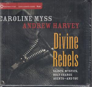Caroline-Myss-Andrew-Harvey-Divine-Rebels-9CD-Audio-Book-Saints-Mystics-Holy