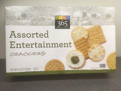 365 Everyday Value 5 Pk Of 8 8 Oz Assorted Entertainment Crackers Exp 8 24 20 99482415389 Ebay