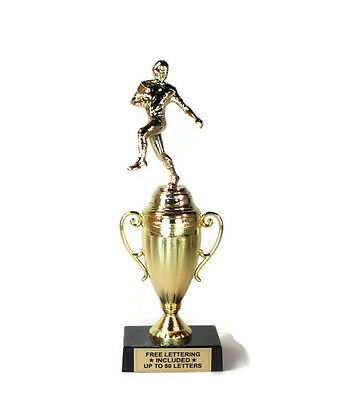 Football Trophy- Runner- Touchdown- First Down- Mini Cup Series- Free Lettering