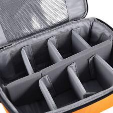 Partition Flexible Folded Padded Camera Lens Insert Bag Dividers Case DSLR SLR