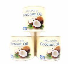 3x 500ml Yari 100% Pure Coconut Oil  Kokosöl /Cocosöl /Kokosnussöl /Coconut Oil