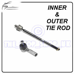 FORD-SIERRA-87-93-LEFT-Inner-amp-Outer-Tie-Rod-End-Steering-Track-Rod