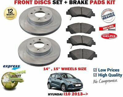 PEUGEOT BIPPER FRONT BRAKE DISCS AND PADS 2008 ONWARD PREMIUM QUALITY