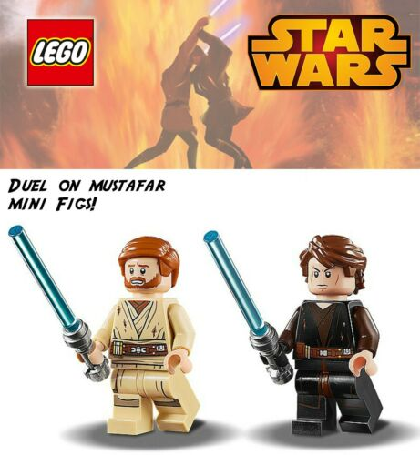 LEGO Star Wars Revenge of the Sith Duel on Mustafar Mini Figs only 2020