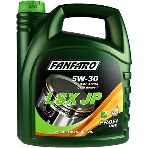 4-Liter-Orignal-FANFARO-LSX-JP-5W-30-API-SN-CF-Motoroel-Engine-Oil-Ol