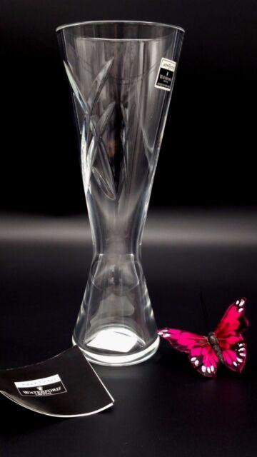 Waterford John Rocha Bud Vase Signature Fine Crystal Tags Retired 9