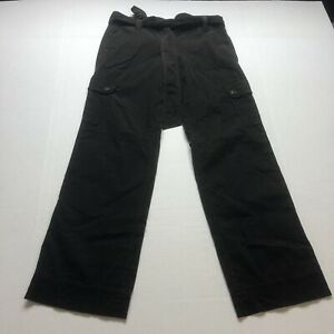 Loft Brown Corduory Pants Size 2P New Cargo Pockets A528