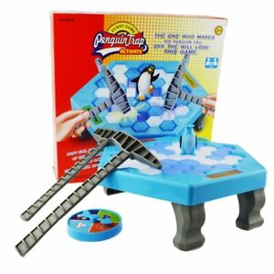 Family Game Don't Break the Ice Penguin Trap Toys Kids Party Board Game US