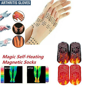 Magnetic-Gloves-Socks-Arthritis-Therapy-Support-Pressure-Pain-Relief-Heal-Joints