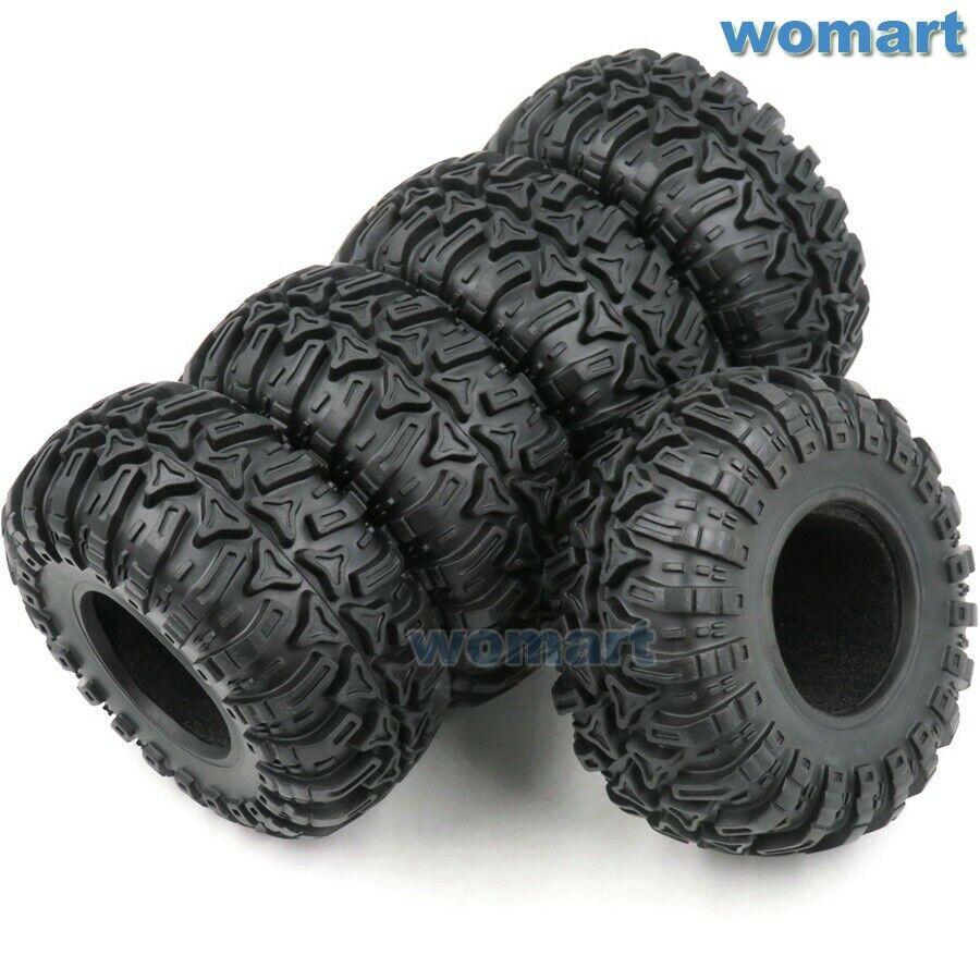 5 un. Radio Control 2.2 Crawler barro Neumáticos Neumáticos altura 130mm ajuste para 2.2 mm llantas