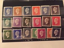 France, 19 stamps Marianne de Londres, 1944, MNH **
