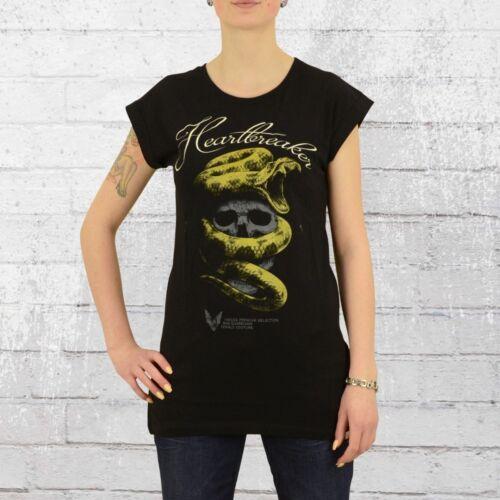 Yakuza Premium Damen Long T-Shirt Heartbreakers 2235 schwarz Frauen Tshirt