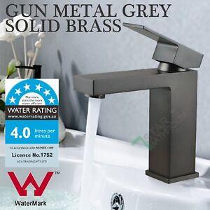 New Square Celia Wide WELS Bathroom Sink laundry Flick Mixer Tap Faucet