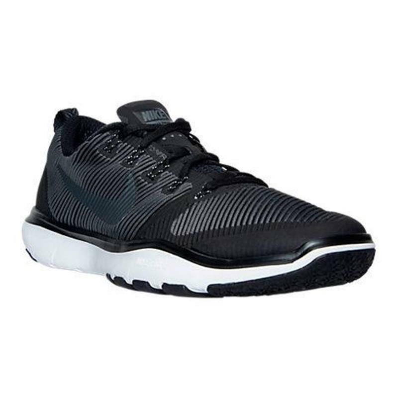 833258 001 NIKE FREE TRAINER VERSATILITY Men's shoes Black White MSRP  100 NIB