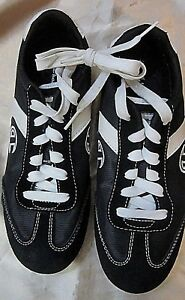 f832c00d076 LADIE S CHAMPION BLACK and WHITE SNEAKERS WALKING SHOES - Leather ...