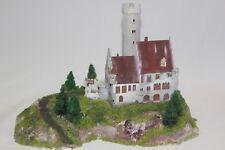 Diorama H0 / N Diorama Burg Schloß Wasserschloss Faller