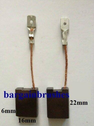 CARBON BRUSHES METABO Grinder MARATHON W2081X  W2230  W2232X QUICK W2280 D84