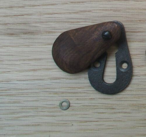 Vintage Rétro Style Victorien serrure clé Trou Couvre écusson ouvert couvert