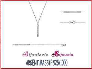 Bracelet-Argent-Massif-925-1000-Rhodie-Tige-pave-zirconium-blanc-Bijoux-Femme