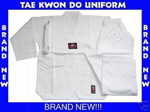 BRAND NEW!! WHITE TAE KWON DO TAEKWONDO UNIFORM SIZE 5