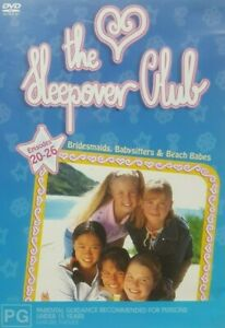 Sleepover-Club-DVD-Episodes-20-26-ALMOST-3-HOURS-Very-Rare-REGION-4-AUST