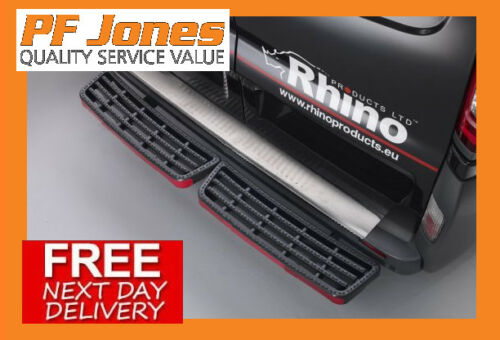 Rhino SafeStep Twin Step Black Vauxhall Vivaro 2002-2014  SS201B