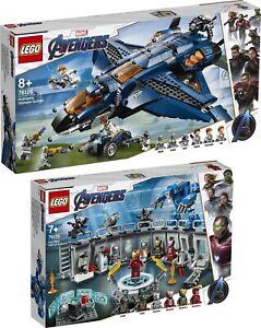 Industrieux Lego Marvel Avengers Guérisseur 76125 76126 Iron Man Ultimate Quinjet Black Widow-afficher Le Titre D'origine CaractèRe Aromatique Et GoûT AgréAble