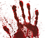Halloween-Bloody-Blood-Hand-Print-Stickers-Scary-Zombie-Spooky-Party-Prop-Decor thumbnail 2