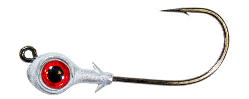 Walleye Trout Fishing Lure Hook Z-Man Redfish Eye Jigheads 3//16 Oz 3pk Bass