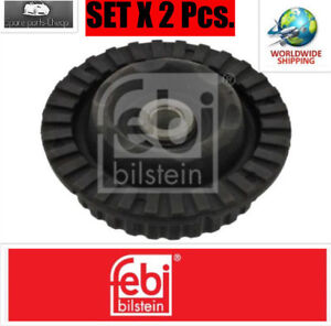 2x-NEW-FRONT-TOP-STRUT-MOUNTING-CUSHION-SET-FEBI-34391-I-OE-REPLACEMENT