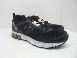 Reebok Men s Jet Dashride Running Shoe Black White Size 12M  c59e6139d