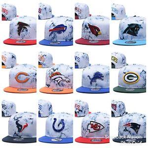 NEW-FOOTBALL-HATS-CAPS-9-FIFTY-NFL-MLB-NBA-TEAMS-ADJUSTABLE-SNAPBACKS