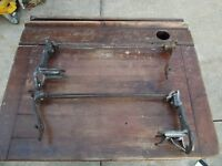 Antique Cast Iron and Metal Sensible #3 Vertical Paper Cutter Dispenser Butcher