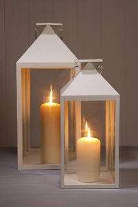 Cream outdoor lanterns