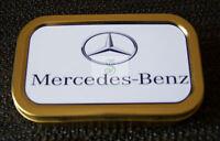 Mercedes-Benz  1 & 2oz Tobacco/Storage Tins