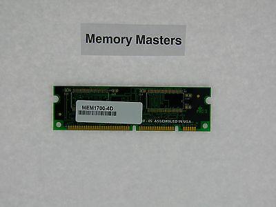 Gekwalificeerd Mem1700-4d 4mb Approved Dram Memory For Cisco 1700 Series Bekwame Vervaardiging