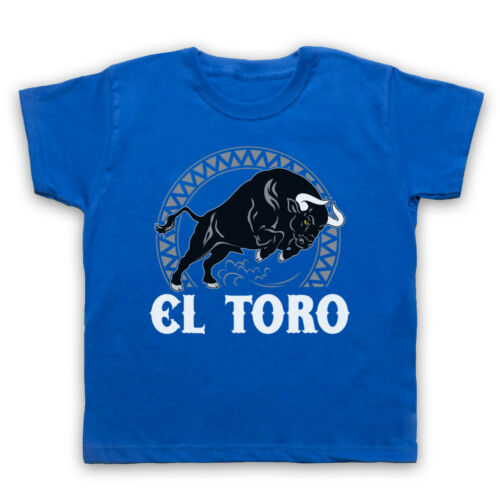 El Toro Spanish Bull Cool Rétro Spain culture Animal Mens Womens Kids T-Shirt