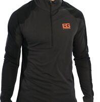 Bear Grylls Craghoppers Technical Hiking/camp 1/4-zip Long Sleeve Mock T-shirt