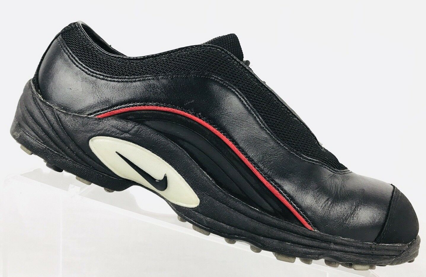 Nike Air Zoom T-Range Mens US 7 Black Spikeless Golf Shoes Original Tiger Model Wild casual shoes