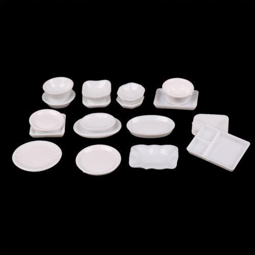 Puppenstuben & -häuser 18 1/12 Dollhouse Plastic Dishes Besteck Miniatur Küche Spielzeug PDH