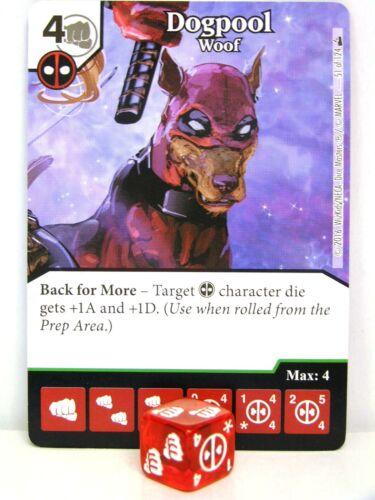 Dice Masters #051 Dogpool Woof Deadpool
