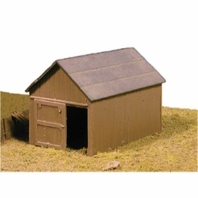 Micro Engineering # 70605 Small Shed Kit HO MIB for sale online