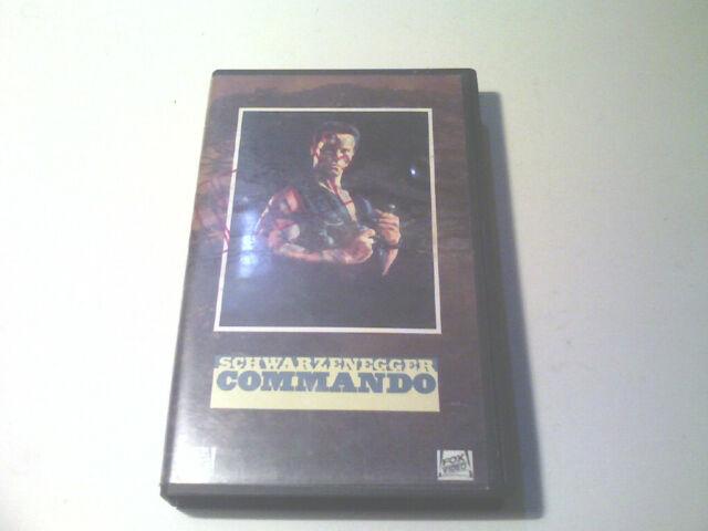 Commando (1985) VHS 820 ottime condizioni , arnold schwarzenegger