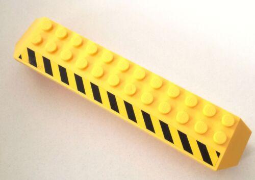 LEGO 1X BRICK PILASTRO PONTE RUOTE CAMION GIALLO ADESIVO 30296 LOTTO KG SET