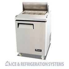 "Migali Commercial 27"" Salad & Sandwich Refrigerator Prep Table Cooler C-SP27-8"