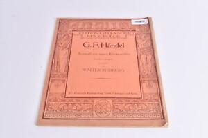 Notenbuch-G-F-Haendel-Auswahl-aus-seinen-Klavierwerken-Klavier-Edition-Cottan-Nr